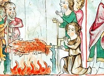 Натюрморт средних веков