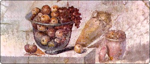 Натюрморт древних римлян