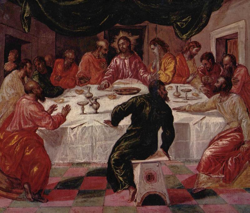 Тайная вечеря, Эль Греко