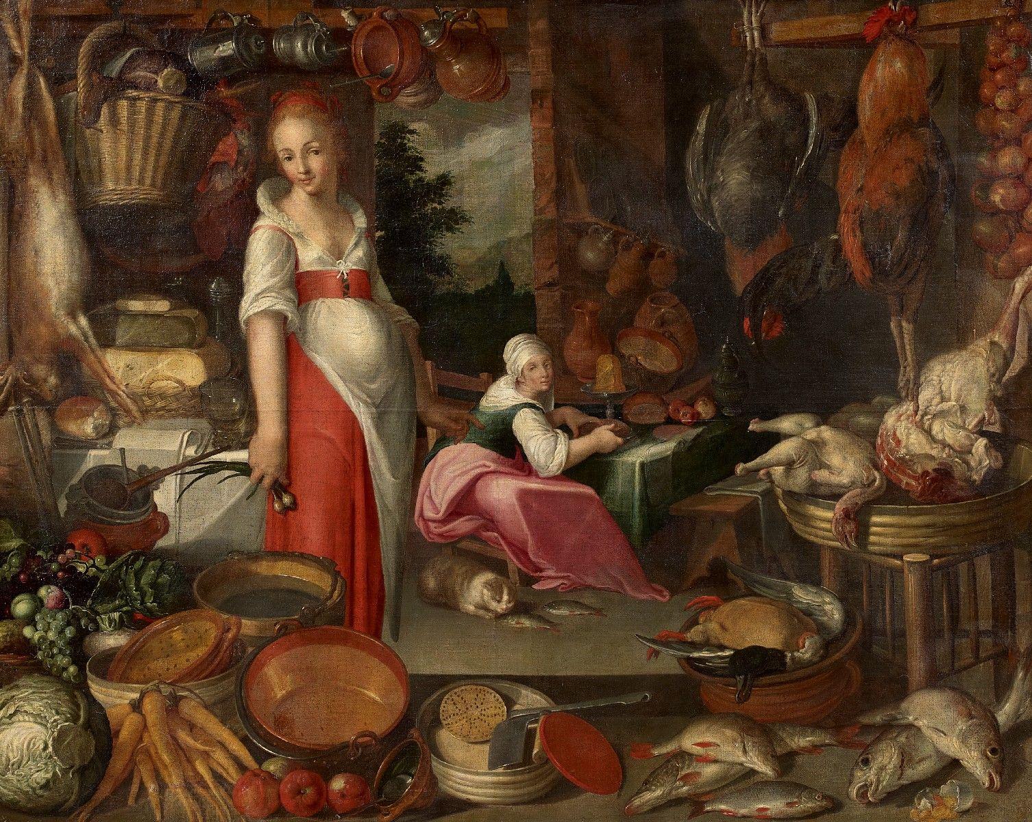 Голландский натюрморт 16 века